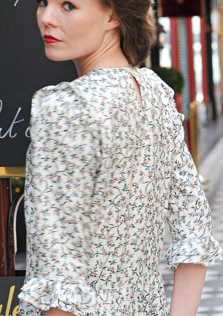 Robe Justine rose desbois